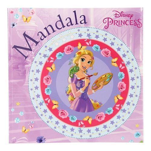 Image of Disney Princess Mandala Malebog