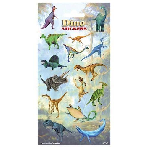 Klistermærker, Dinosaurer