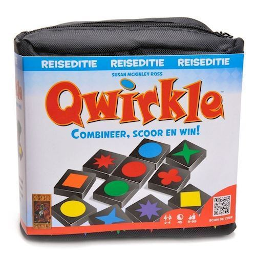Image of Qwirkle Travel Edition, Rejseudgave (8717249198154)
