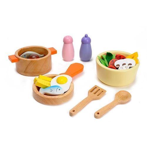 Image of Mentari Wooden Cookware Set