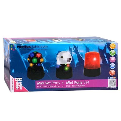 Image of   Mini Party/fest lamper, 3 stk