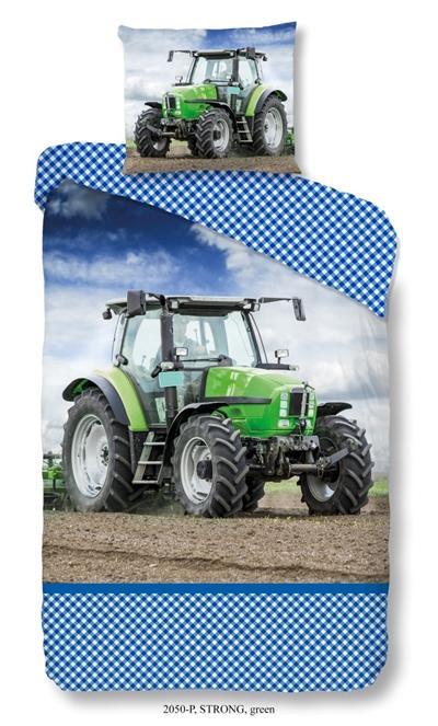 Image of Sengetøj med traktor (8717285131566)