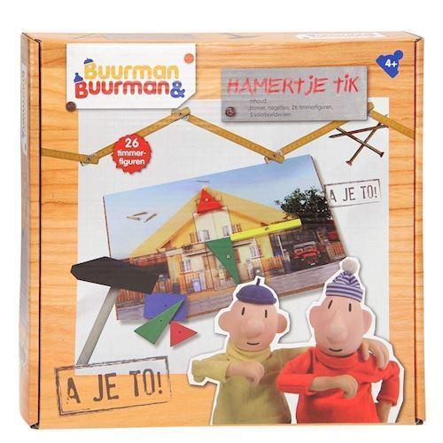 Image of   Pat & mat - Lille hammer legetøj