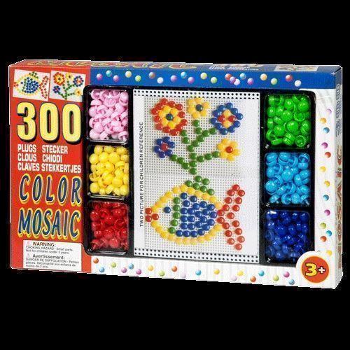 Mosaik, 300 dele