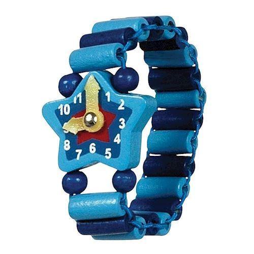 Image of   Legetøjsur, armbåndsur i træ