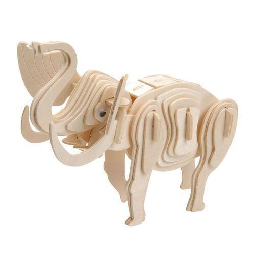 Image of   Træ samlesæt, elefant