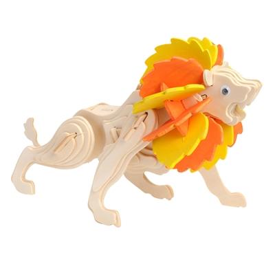 Image of   Træ samlesæt, løve