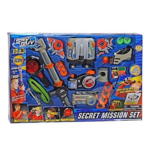 Image of   Legetøj, Spionsæt, Mega Secret Mission