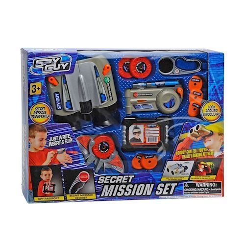 Image of   Spion legetøj, hemmelig mission sæt