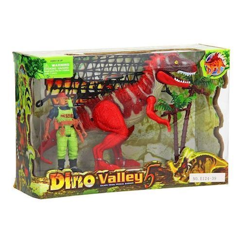 Image of Dino Valley, Dinosaur med figur (8718012028111)