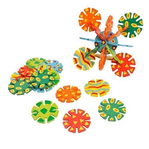 Image of Byggeplade i træ, Discs (8718012030282)