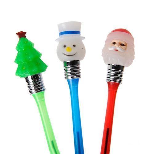Image of   Jule kuglepen med lys