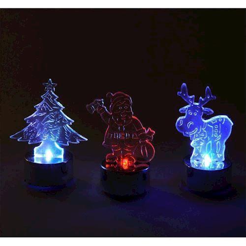 Image of LED Fyrfadslys, Julemotiver, pris pr. stk (8718158313645)