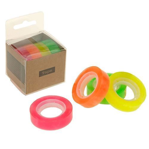 Image of   Ecostyle Neon Tape, 4 stk