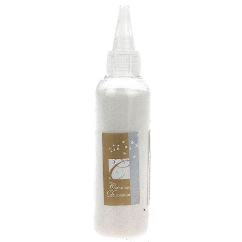 Image of   Glitter på flaske, hvid