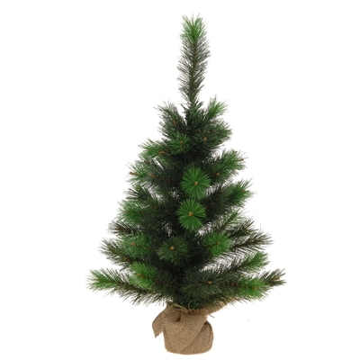 Image of   Christmas tree plastic in Jute Bag