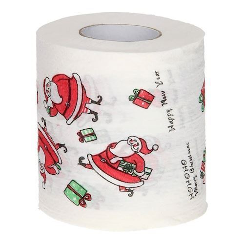 Image of   Christmas Toilet Paper