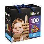 BBlocks Construction boards color, 100 PCs.