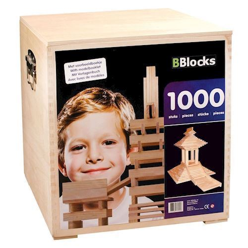 Image of BBlocks coffin, 1000 PCs. (8718182370348)