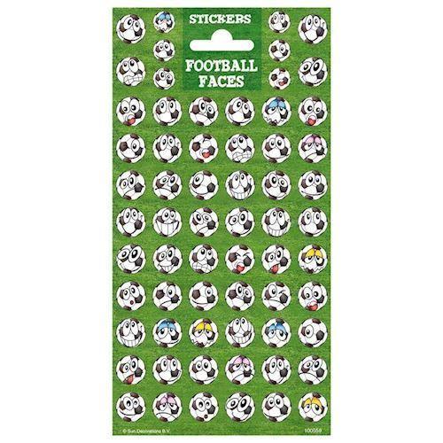 Sticker Twinkle - Soccer Faces - Klistermærker