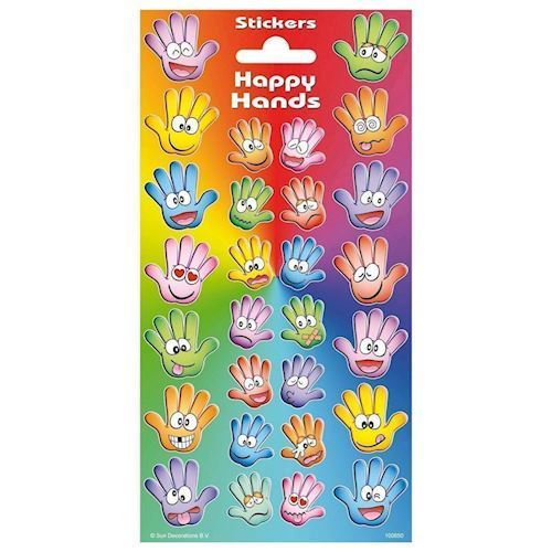 Sticker Twinkle - Happy Hands - Klistermærker