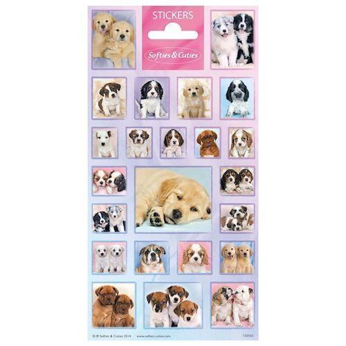Klistermærker - hundehvalpe