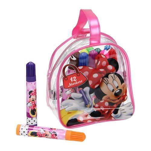 Image of Minnie Mouse tusser i taske 12 stk (8718375537312)