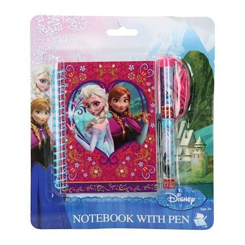 Image of   Disney, Frozen/Frost - Notesblok med kuglepen