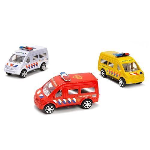 Image of   Legetøjsbiler - Udrykningskøretøjer