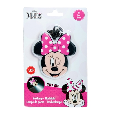 Image of   LED lommelygte - MInnie Mouse