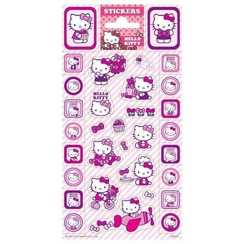 Klistermærker - Hello Kitty