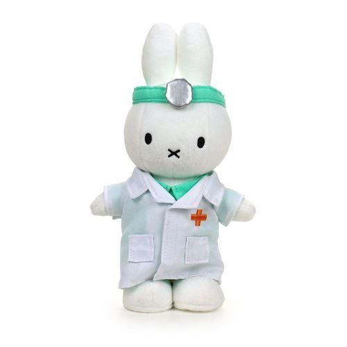 Image of Miffy, læge bamse 24cm (8719066001303)