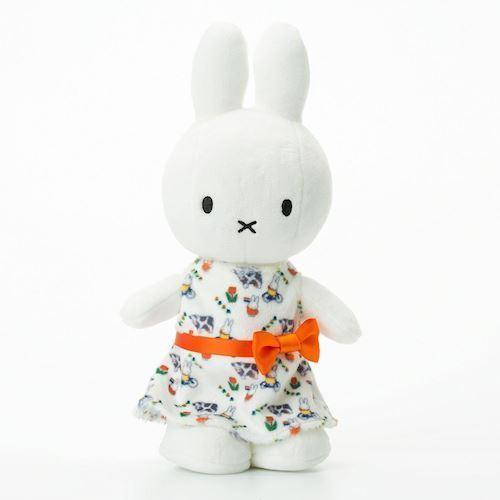 Image of Miffy, bamse med kjole 24cm (8719066002775)