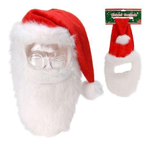 Image of Nissehus - Julemanden med skæg (8719202027990)