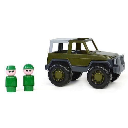 Image of   Wader Militær Jeep med passagerer