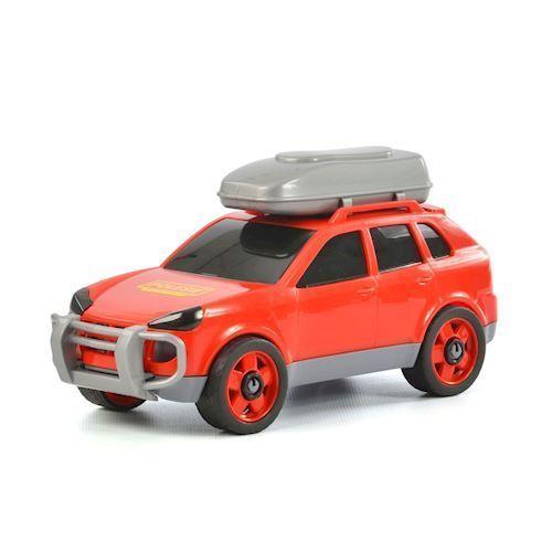 Image of   Wader bil med tagboks