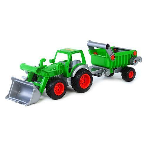 Image of   Wader Traktor med trailer
