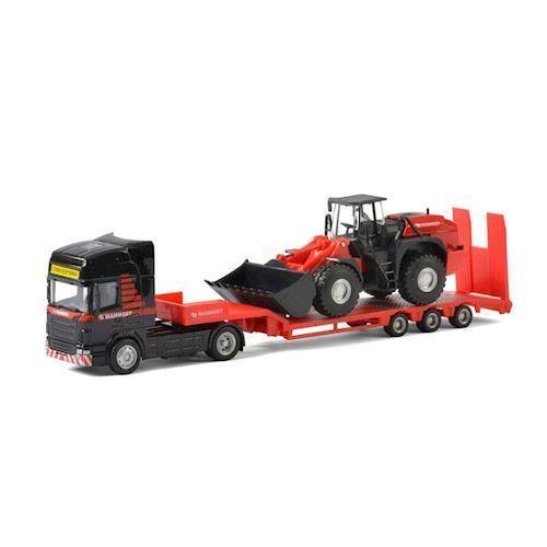 Image of Mammoet Toys, lastbil med Bulldozer (8719214071066)