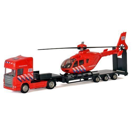 Image of   Polesie,Lastbil med, Helicopter, bandvæsen
