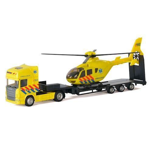 Image of   Polesie,Lastbil med, Helicopter, Ambulance