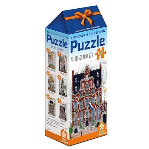Image of   Amsterdam Puzzle - Keizersgracht 123, 500st.