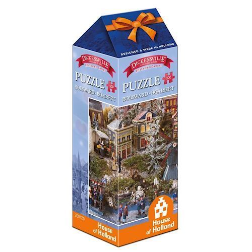 Image of   Dickensville Elf Cities Puzzle - Bolsward, 100pcs.