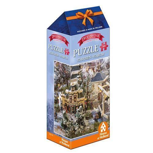 Image of   Dickensville Elf Cities Puzzle - Stavoren, 500pcs.