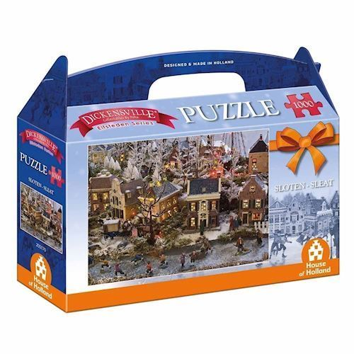 Image of   Dickensville Elf Cities Puzzle - Locks, 1000pcs.