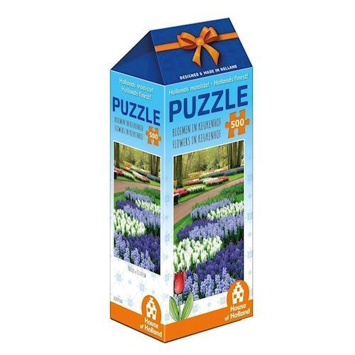 Image of   Holland most beautiful! Puzzle - Flowers in Keukenhof, 500pcs.