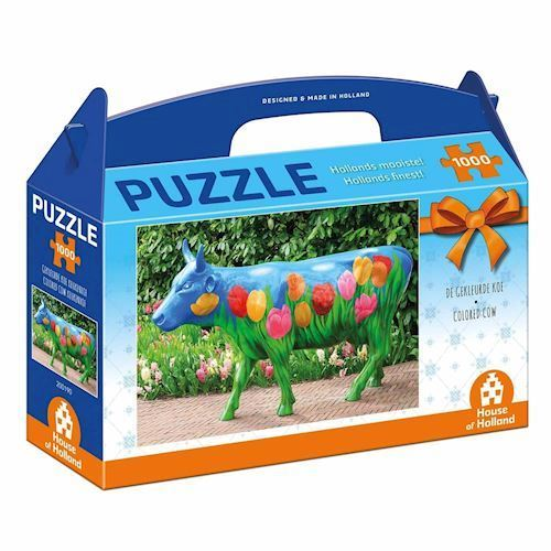 Image of   Holland most beautiful! Puzzle - The Colored Cow, 1000pcs.