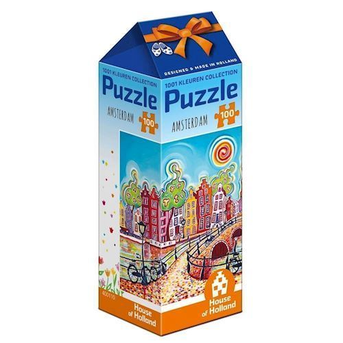 Image of   1001Color Puzzle - Amsterdam, 100pcs.