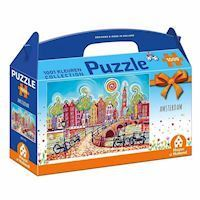 1001Color Puzzle - Colorful Amsterdam, 1000pcs.