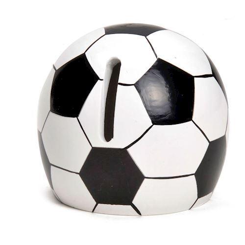 Image of Sparrebøsse, fodbold i træ (8719348000062)