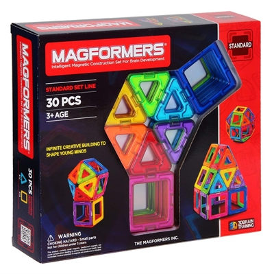 Image of   Magformers sæt 30 dele